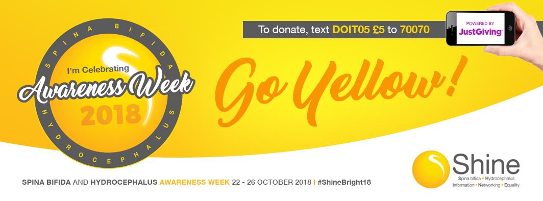 Spina Bifida and Hydrocephalus Awareness Week2018