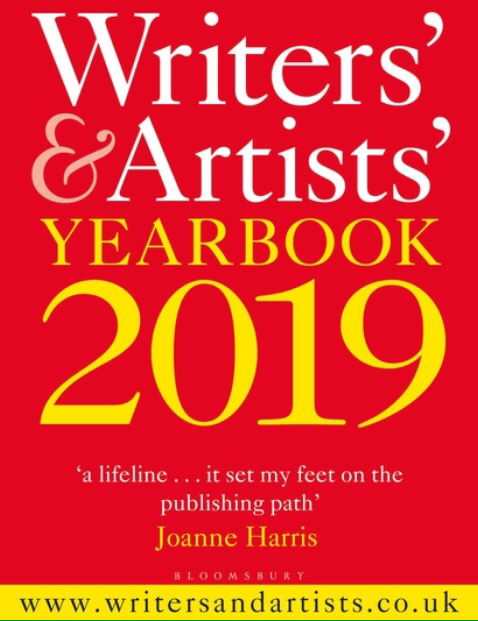 Thankfully Reading Readathon: Book 2- The Writer's And Artist's Yearbook 2019