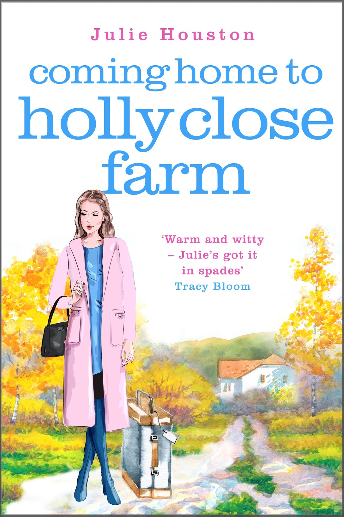 Blog Tour: Coming Home to Holly Close Farm by Julie Houston