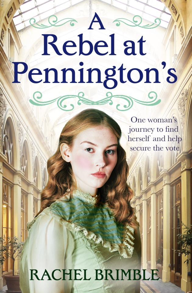 Blog Tour: A Rebel at Pennington's by RachelBrimble