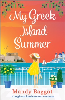 Blog Tour: (Review Only) My Greek Island Summer by MandyBaggot
