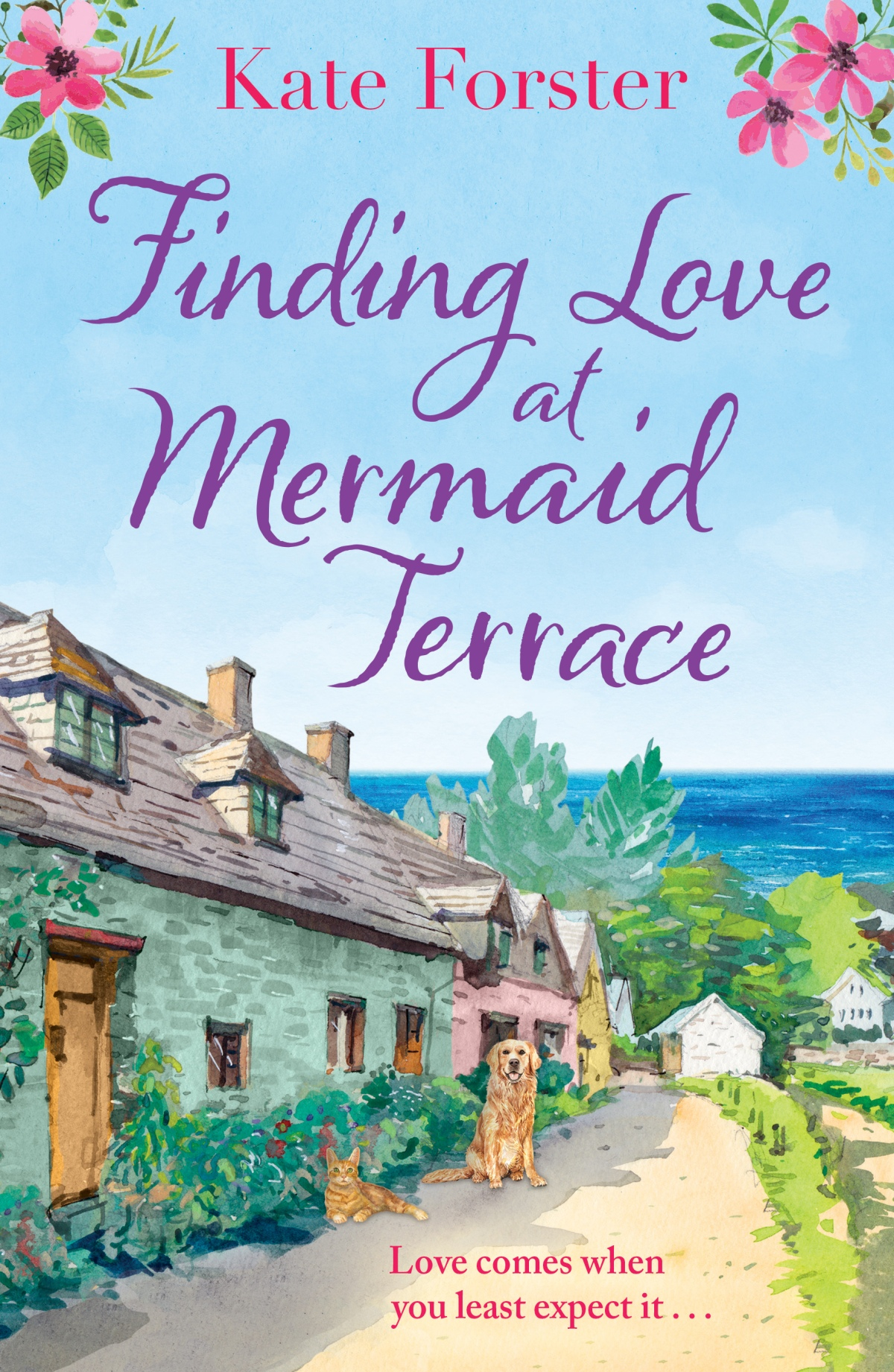 Cover Reveal: Finding Love at Mermaid Terrace by KateForster
