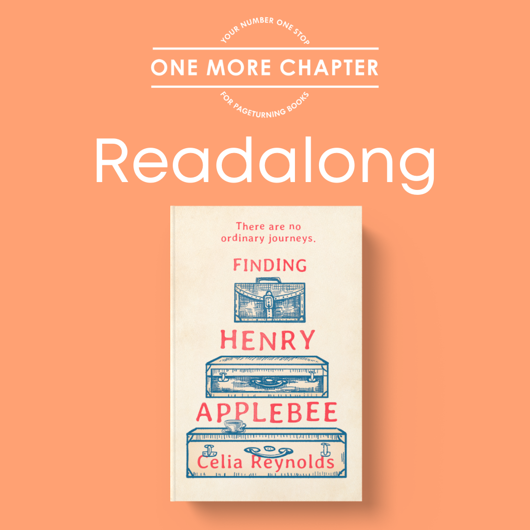 One More Chapter Readalong: Finding Henry Applebee Day 1 Progress.  #Finding Henry Applebee#OMCReadalong