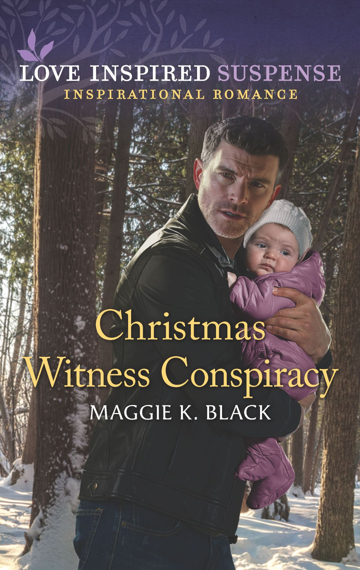 November 2020 Harlequin Suspense Blog Tour: Christmas Witness Conspiracy by Maggie KBlack