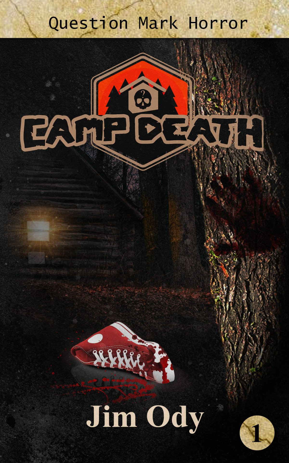 Camp Death by Jim Ody QMP Horror Blog Tour (QMP Book #1) @Jim_Ody_Author @QuestionPress @zooloo2008  Hashtags #CampDeath #QMPHorror #QuestionMarkPress #ZooloosBookTours